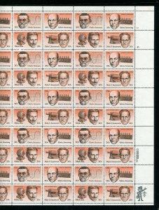 Scott #2055 - 2058 American Inventors 20¢ Sheet of 50 Stamps MNH 1983