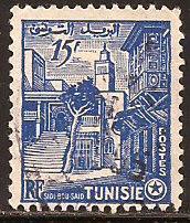 Tunisia  #  244  used