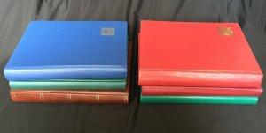 Black Page Large Stockbooks x 6 (8,5kg)(K23)