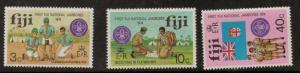 FIJI SG499/501 1974 NATIONAL SCOUT JAMBOREE MNH