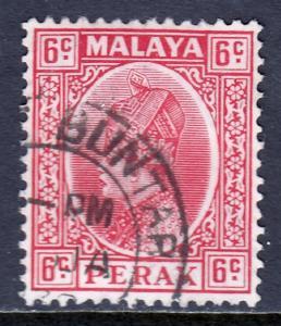 Malaya (Perak) - Scott #73 - Used - SCV $4.25
