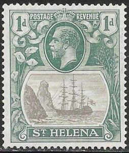 St. Helena 80 Unused/Hinged - Badge of the Colony - George V