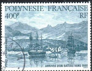 FRENCH POLYNESIA 1986 Arrival of the Ship Vers fine used cat £18...........12015