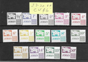 Jersey #J7-J20 MNH - Stamp Set - CAT VALUE $6.00