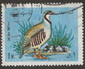 Persian/Iran stamp, Scott# 1639, used hinged, Rock ptarmigan, bird, #F-39
