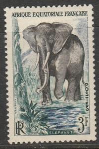 Afrique Equatorial Francaise 1957  Scott No. 197  (N*)