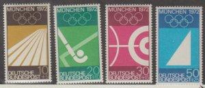 Germany Scott #B446-B449 Stamps - Mint NH Set