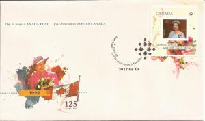2012 Canada FDC Sc 2516 - Queen Elizabeth II Diamond Jubilee (#1168)