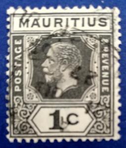 Mauritius Scott # 179 Used (A218)