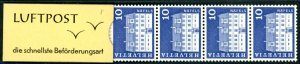 Switzerland Booklet Sc 441 MNH 1970 Privately produced Zumstein Ticket 8 CHF ...