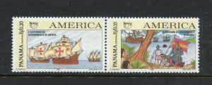 Panama 800, MNH, Discovery of America 1992. x2700