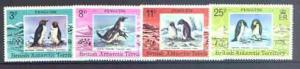 British Antarctic Territory 1979 Penguins set of 4 unmoun...