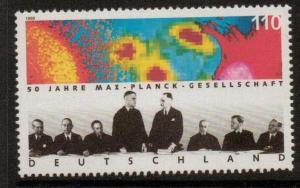 GERMANY SG2835 1998 SOCIETY FOR THE ADVANCEMENT OF SCIENCE  MNH