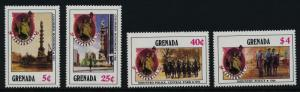 Grenada 1347-50 MNH Statue of Liberty, Horses, Central Park