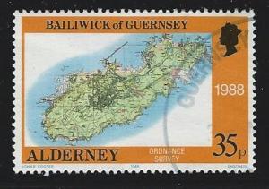 Alderney  used s.c.#  41