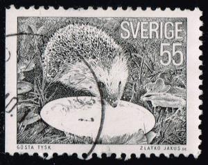 Sweden #1142 Hedgehog; Used (0.25)