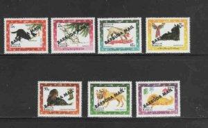 BARBUDA #1690-1696 1998 DOGS MINT VF NH O.G