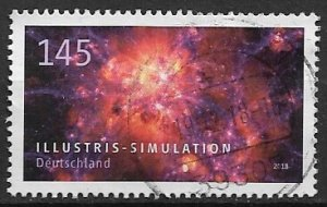 Germany used  2018 - Illustris Simulation