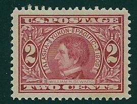 370 MNH, 2c. Seward, PSE Graded XF-Superb 95