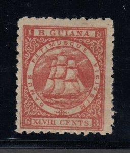 British Guiana, Sc 69 (SG 105), MHR