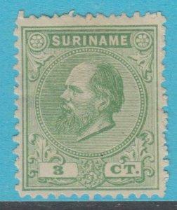 Suriname 4 Excellent État à Charnières Ngai N° Défauts Extra Fin