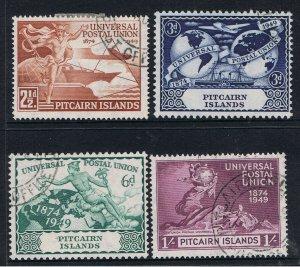 PITCAIRN ISLANDS 1949 UNIVERSAL POSTAL UNION
