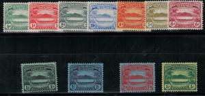 Soloman Islands 1908-1911 SC 8-18 Mint Set SCV $272