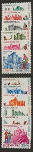 Nickel Auction. Luxembourg B270-B281 m [ck13]