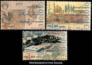 Israel Scott 1245-1247 Mint never hinged.