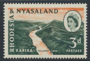 Rhodesia & Nyasaland SG 32 Sc# 172  MNH see details Hydro Electric Scheme