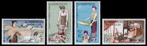 Laos Scott 37-40 (1957) Mint LH VF Complete Set C