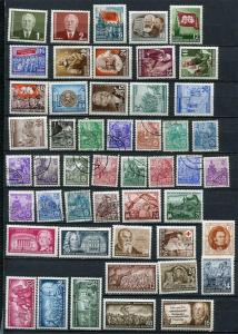 Germany 1953 Mi 342-422 MH/U+Blocks Perf & Imperf. Complete Year 2504