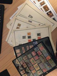 Collection of Ecuador stamps