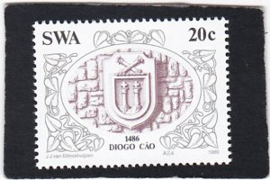 South West Africa,  #   553    unused
