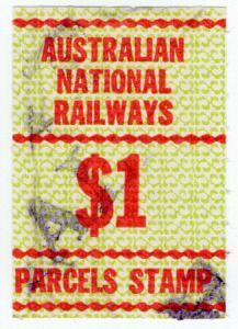 (I.B) Australia Railways - Australian National Railways $1