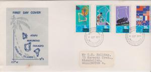 Tokelau Islands 1976 South Pacific Commission First Day Cover
