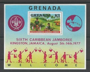 1977 Grenada SS Boy Scout 6th Caribbean Jamboree