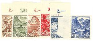 Switzerland #316-21 Mint VF NH