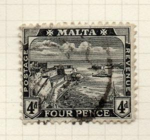 Malta 1915-16 Early Issue Fine Used 4d. 321531