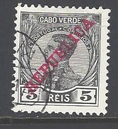 Cape Verde Sc # 101 used (RS)