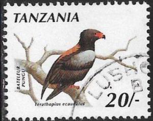 Tanzania 610 Used - Birds - Bateleur