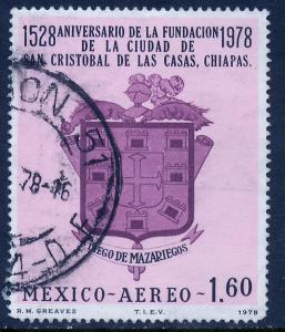 MEXICO C558 400th Anniv S. Cristobal de las Casas Used (1000)
