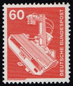 Germany #1176 X-ray Machine; Unused (2Stars)