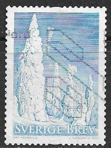 Sweden ~ Scott # 2763b ~ Used ~ Trees in Winter