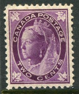 CANADA #68 VF Original Gum Issue - Queen Victoria - S7949