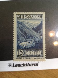 Andorra (French)  #  55  MNH