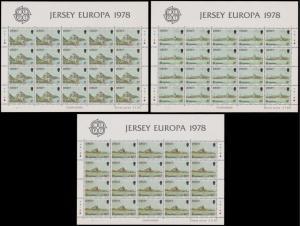 Jersey Scott 157-189 Mint never hinged.