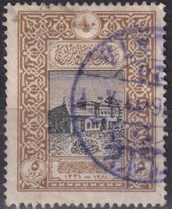 Turkey #349  F-VF Used CV $2.50  Z857