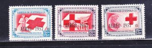 Guatemala CB8-CB10 Set MNH Red Cross (B)