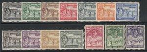 Turks & Caicos Inseln, Sc 78-89 ( Sg 194-205), Mlh / Hr